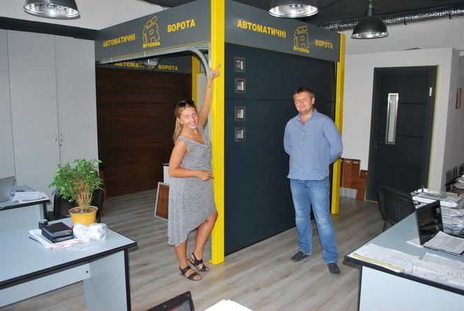 Салон автоматических ворот в Днепропетровске