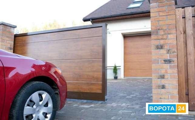 Скидка на откатные уличные ворота, ограждения и гаражные секционные ворота - 9 900 грн!!!