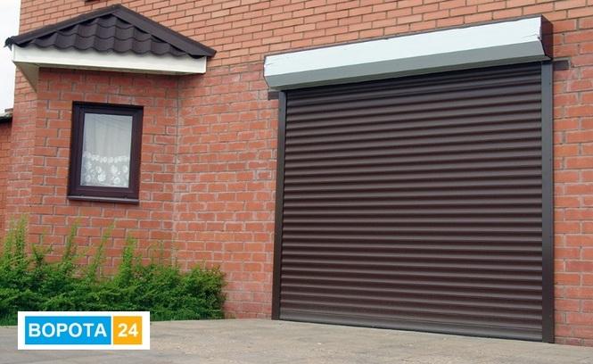 установить ворота в гараж киев виды автоматических гаражных