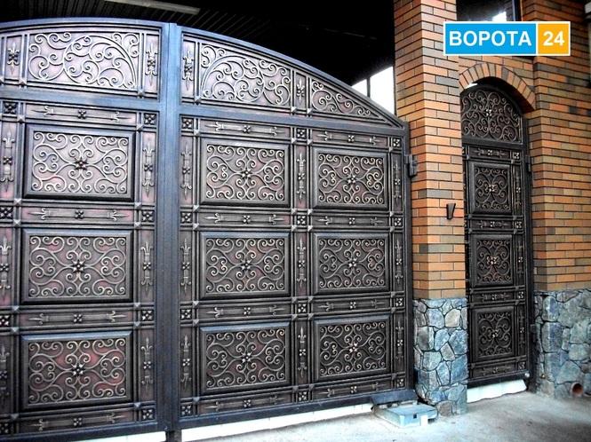 Ковані брами, ворота у Львові, виготовлення та встановлення у містах Івано Франківськ