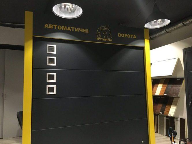 Действующие стенды автоматических ворот в Одессе